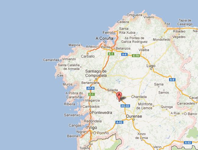 Mapa De Galicia Costa.El Mapa Y La Bandera De Galicia En Un Spot De Oral B El